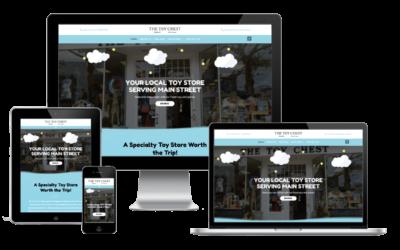 Toy Store Web Design